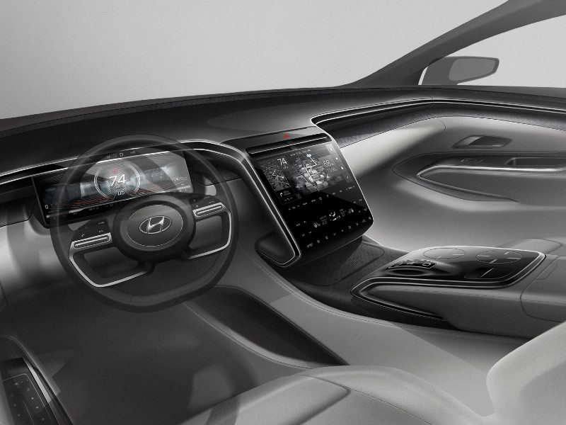 Interior interface.