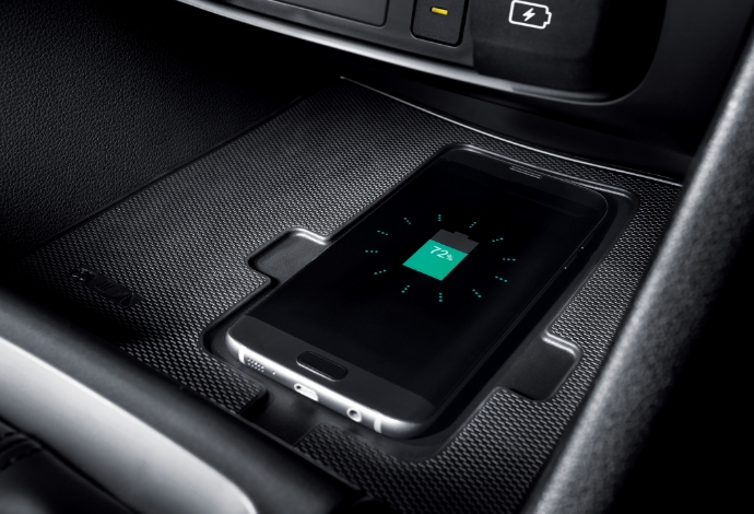 Wireless smartphone charging.<sup>[P3]</sup>