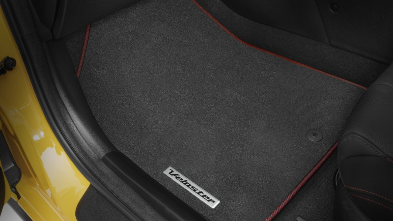 Tailored Carpet Floor Mats - Red.