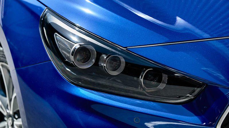 LED headlights & taillamps.