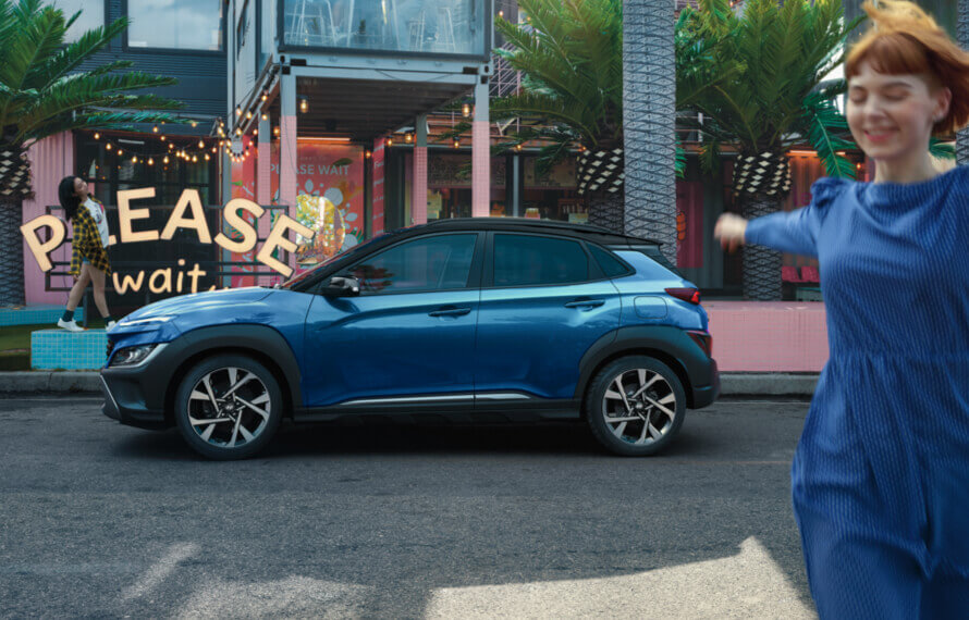The new Hyundai KONA Electric.