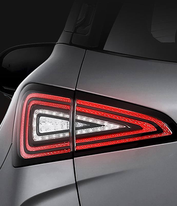 Rear combination lights.