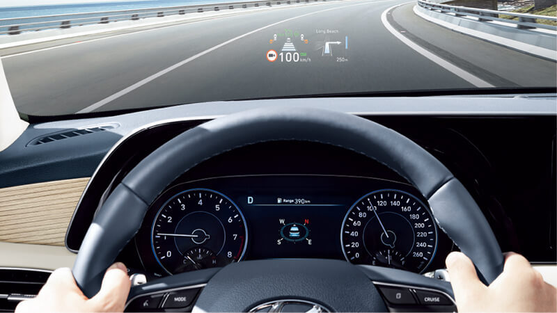 Head-Up Display (HUD).