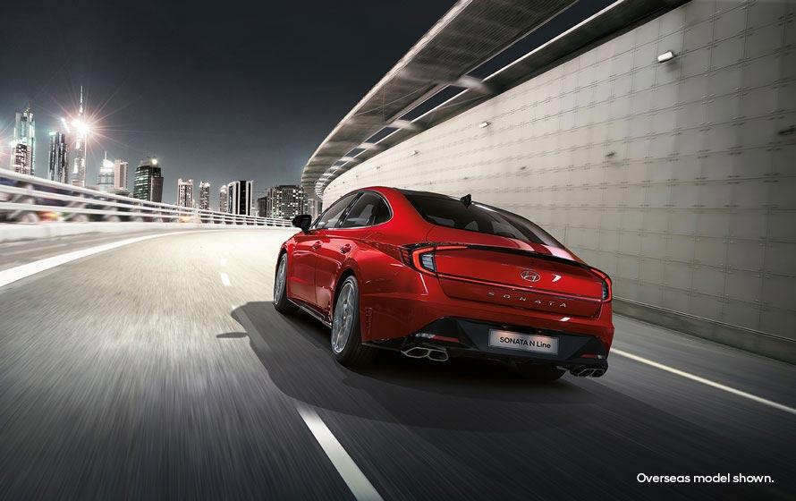 Stylish aerodynamic body shape.