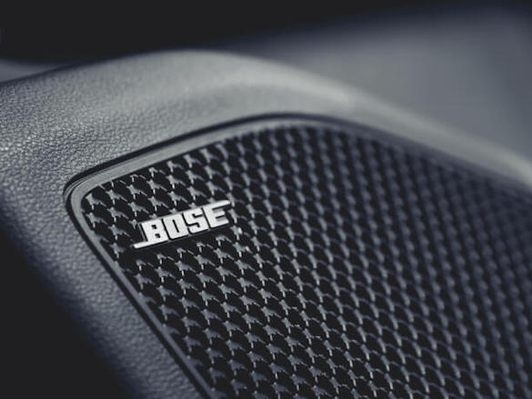 Bose<sup>®</sup> sound system.