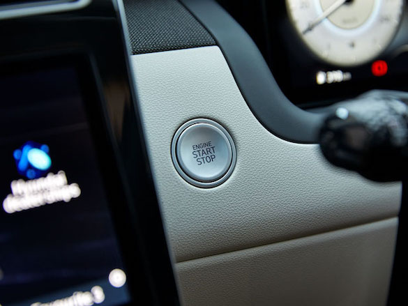 Smart key with push-button start.
