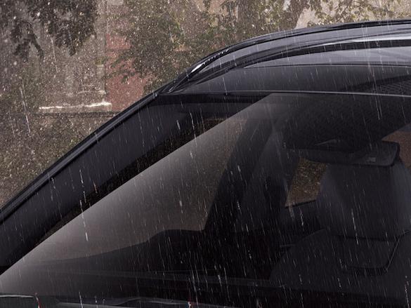 Rain sensing wipers.