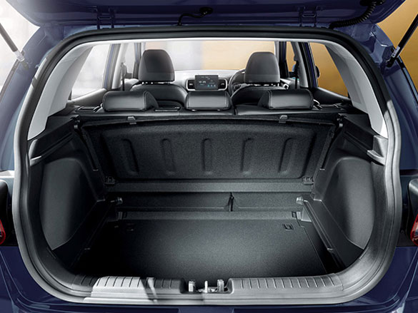 Ample cargo space.